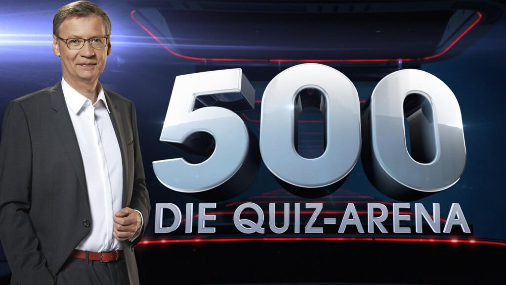 """Günther Jauch moderiert die neue Show """"500 - Die Quiz-Arena"""""""