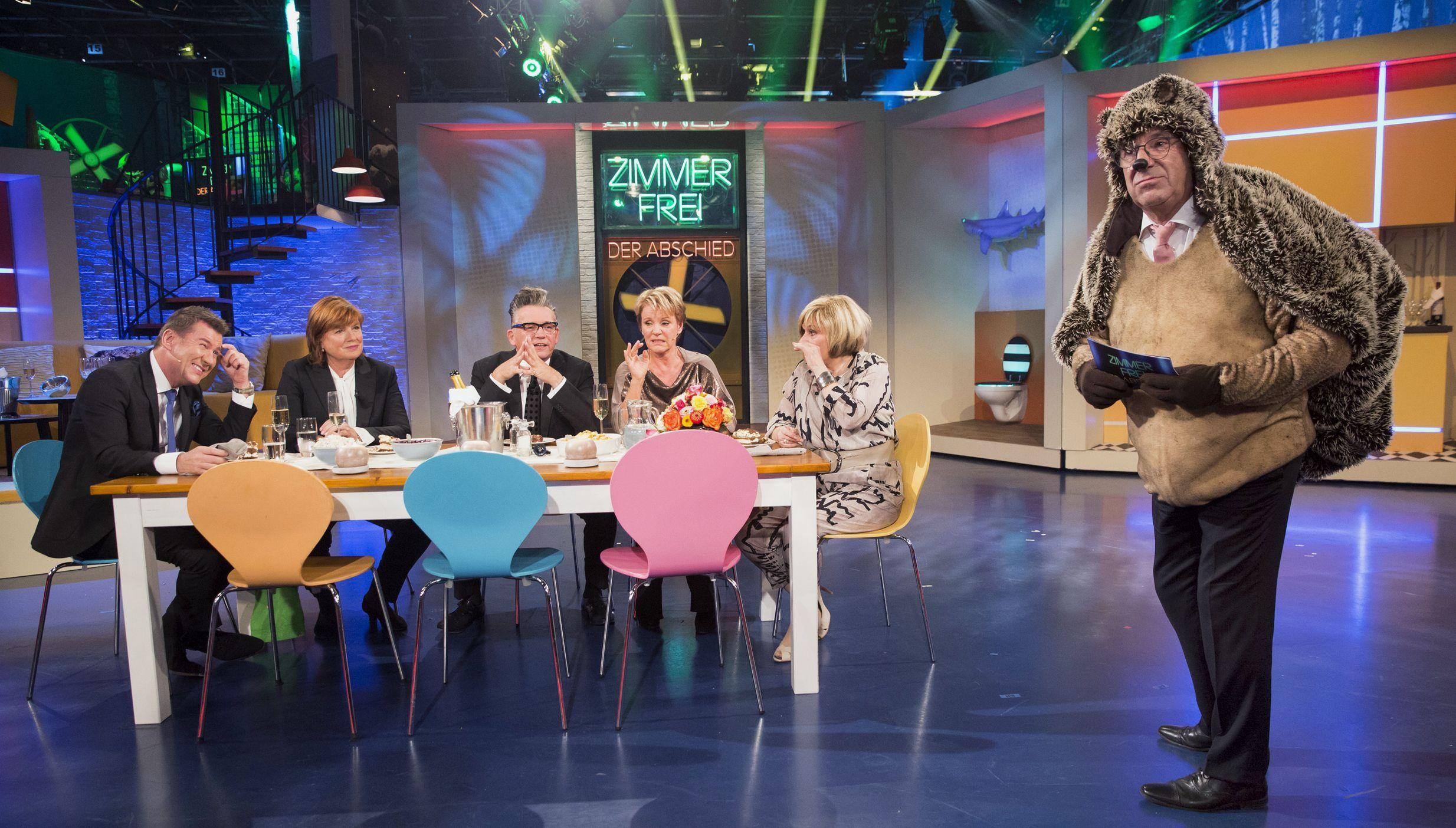Zimmer frei! - Der Abschied - Götz Alsmann und Christine Westermann mit Jens Riewa, Mariele Millowitsch und Mary Roos