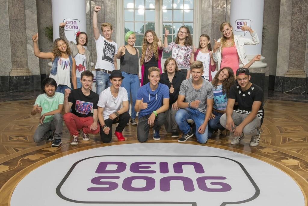 """""""Dein Song"""" Casting 2016: Diese 16 Kandidaten treten im Songwriting-Wettbewerb gegeneinander an."""