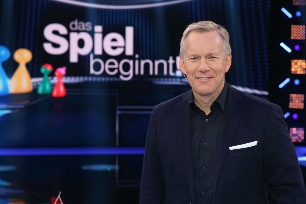 """Johannes B. Kerner moderiert die ZDF-Spielshow """"Das Spiel beginnt!"""""""
