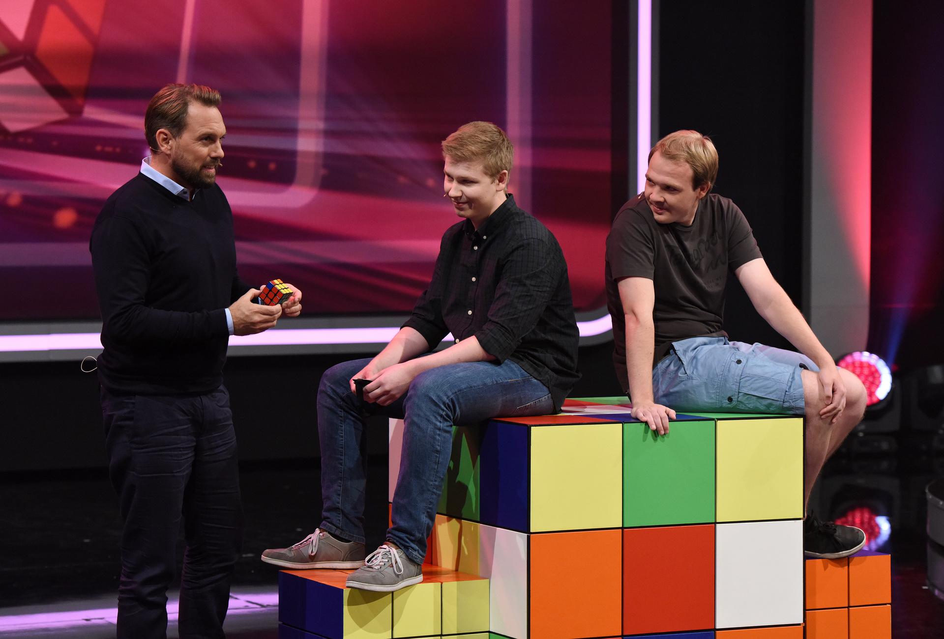 Deutschlands Superhirn 2016 - Jan Bentlage, Philipp Weyer und Steven Gätjen