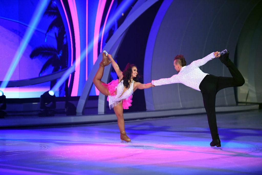 Dancing on Ice 2019 Finale - Eric Stehfest und Amani Fancy bei ihrer zweiten Kür