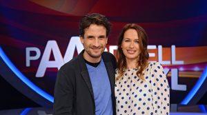 Paarduell XXL - Oliver Mommsen mit seiner Frau Nicola