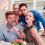 Das Perfekte Promi Dinner - André Dietz, Jenny Bach, Carlo Degen und Kaja Schmidt-Tychsen