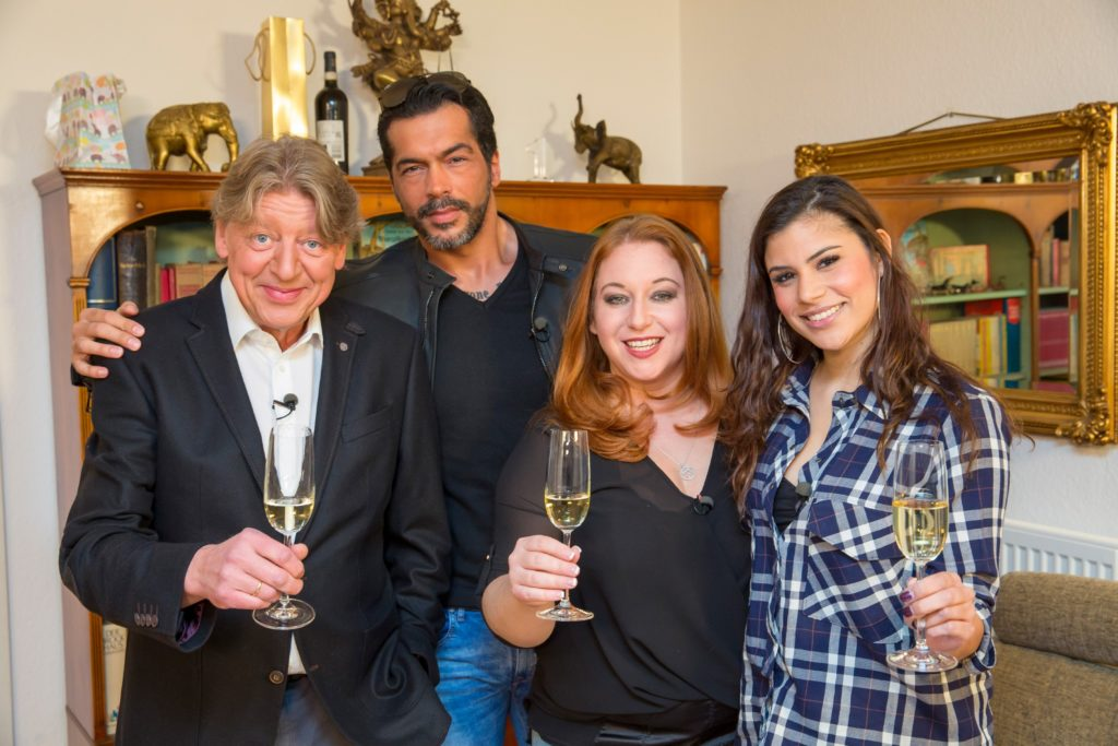 V.l.: Walter Freiwald, Aurelio Savina, Rebecca Siemoneit-Barum, Tanja Tischewitsch