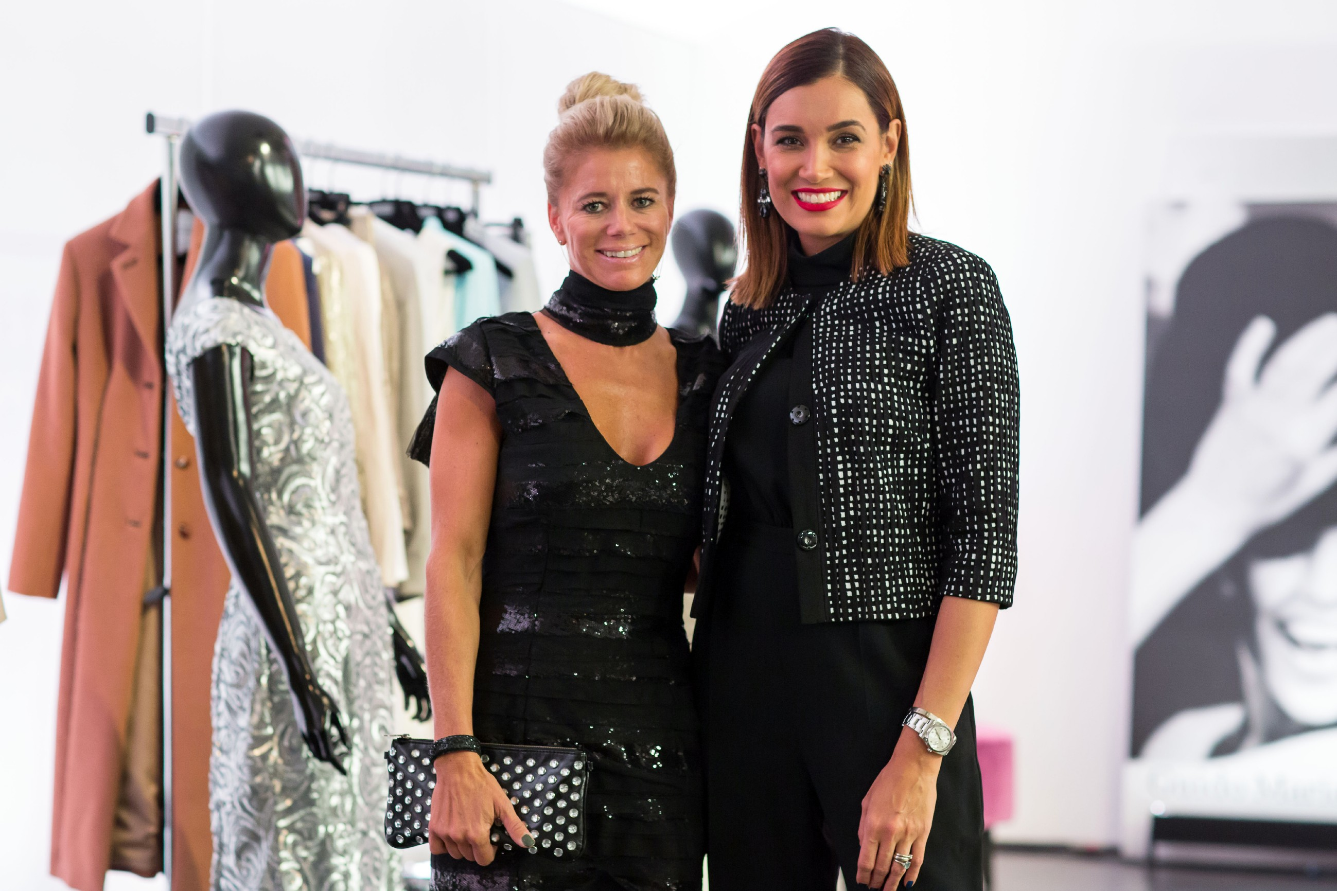 Guidos Shopping Queen des Jahres 2015 - Tina Klaus mit Jana Ina Zarrella