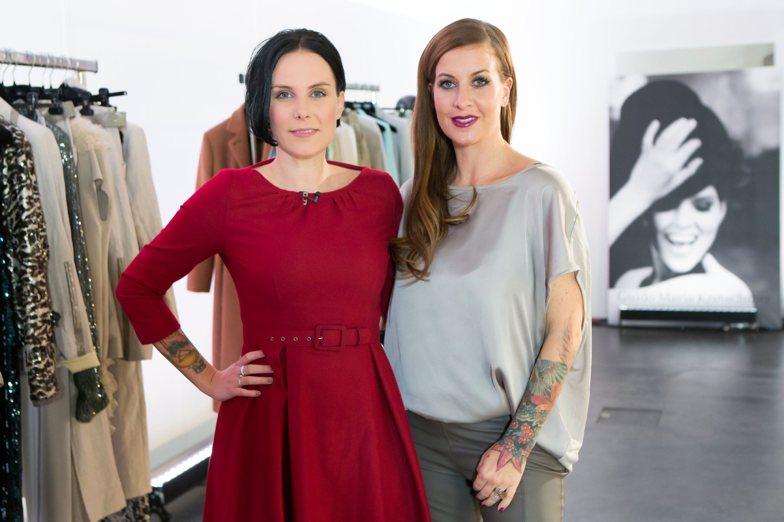 Guidos Shopping Queen des Jahres 2015 - Anne Martin mit Charlotte Würdig