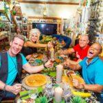 Das perfekte Promi Dinner -Dschungel-Spezial - Jürgen Milski, Sophia Wollersheim, Thorsten Legat und Ricky Harris