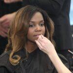 Promi Shopping Queen - Oti Mabuse beim Schminken