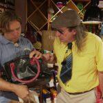 Promi Shopping Queen -Guildo Horn und Shoppingbegleitung Michael