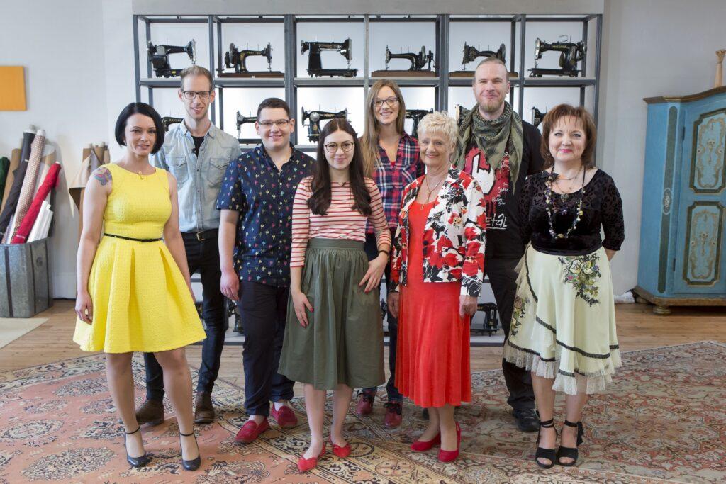 V.l.: Tanja, Julian, Felix, Anika, Indira, Heidi, Keno und Tatjana