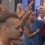 Big Brother Tag 46 - Die Bewohner winken zum Abschied