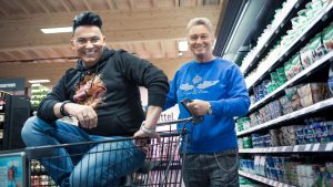 Das Supermarkt-Quiz - Matthias Mangiapane und Hubert Fella