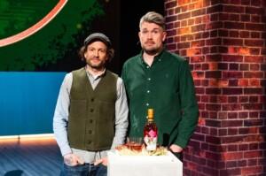 Die leckerste Idee Deutschlands - Bastian Heuser und Sebastian Brack mit Stork Club Whiskey Rosé-Rye Aperitif