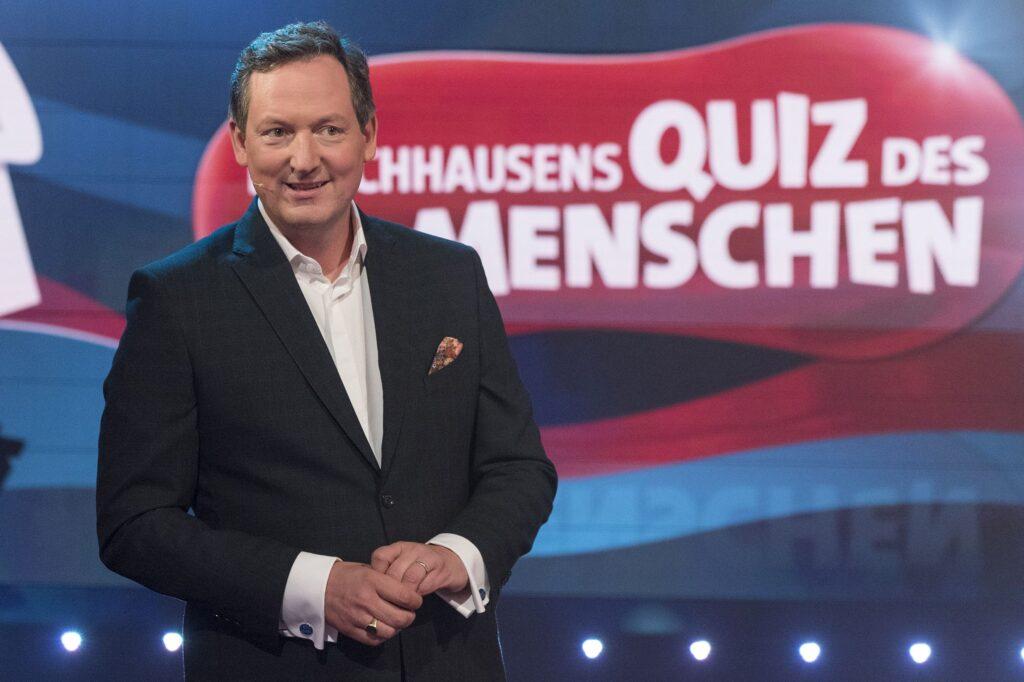Moderator Eckart von Hirschhausen