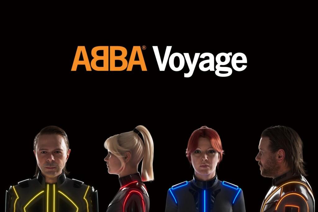 """Das neue Album """"Voyage"""" von ABBA."""