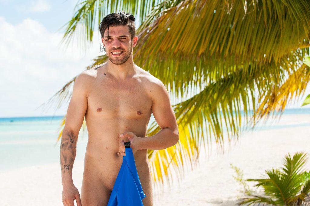 'Adam' David (30) aus Bremen ist auf einer einsamen Südseeinsel auf der Suche nach seiner 'Eva'.
