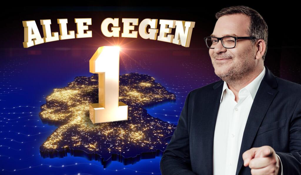 """Elton moderiert die neuen Ausgaben von """"Alle gegen Einen"""" auf Prosieben."""