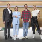 """Hans-Jürgen Moog, Lea-Sophie Cramer, Joko Winterscheidt und Lena Gercke suchen ab dem 29. Januar """"Das Ding des Jahres""""."""