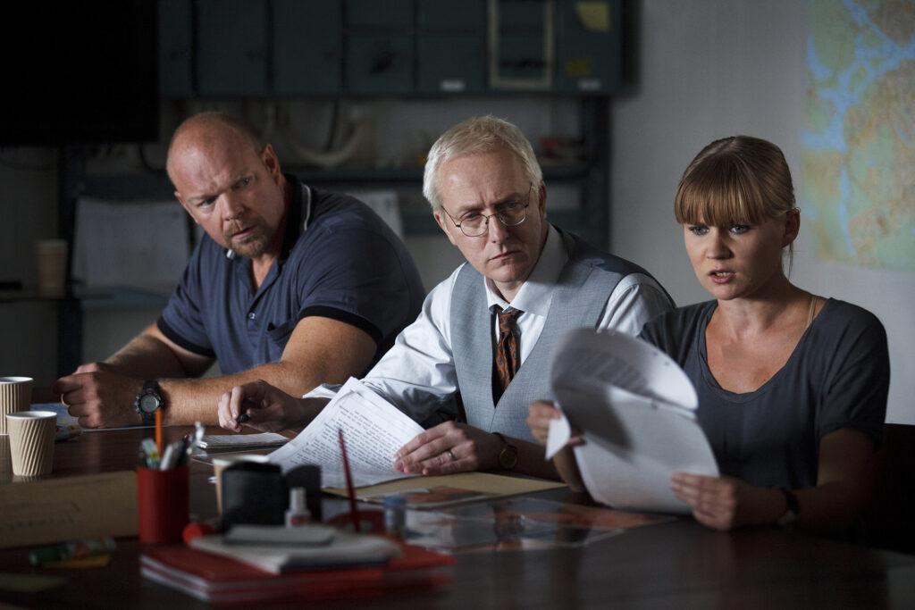 Das A-Team mit Gunnar Nyberg, Arto Söderstedt und Ida Jankowicz, setzt sich aus Spezialisten zusammen, die unterschiedliche Rollen bei der Ermittlung haben.