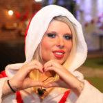 Big Brother Tag 77 - Sharon beim Weihnachtsshooting