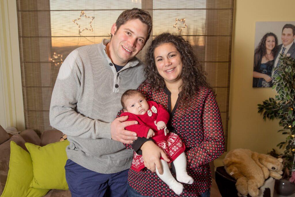 """Seit knapp zwei Monaten dreht sich bei dem """"Bauer sucht Frau""""-Paar Guy (31) und Victoria (28) alles um Baby Charlotte."""