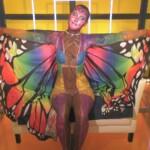 Big Brother 2020 - Michelle hat sich in einen farbenfrohen Schmetterling verwandelt