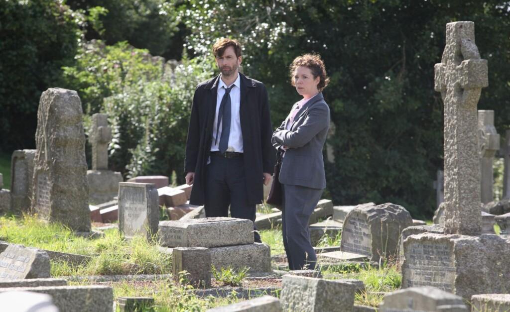 V.l.: DCI Alec Hardy (David Tennant), DS Ellie Miller (Olivia Colman)