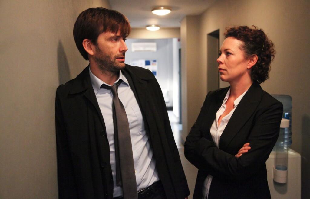 V.l.: DCI Alec Hardy (David Tennant),DS Ellie Miller (Olivia Colman)
