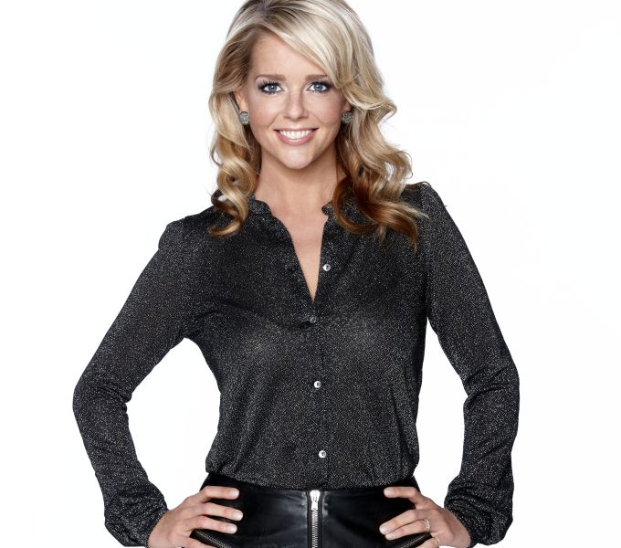 In Holland ist Chantal Janzen bereits ein großer Star und Publikumsliebling.