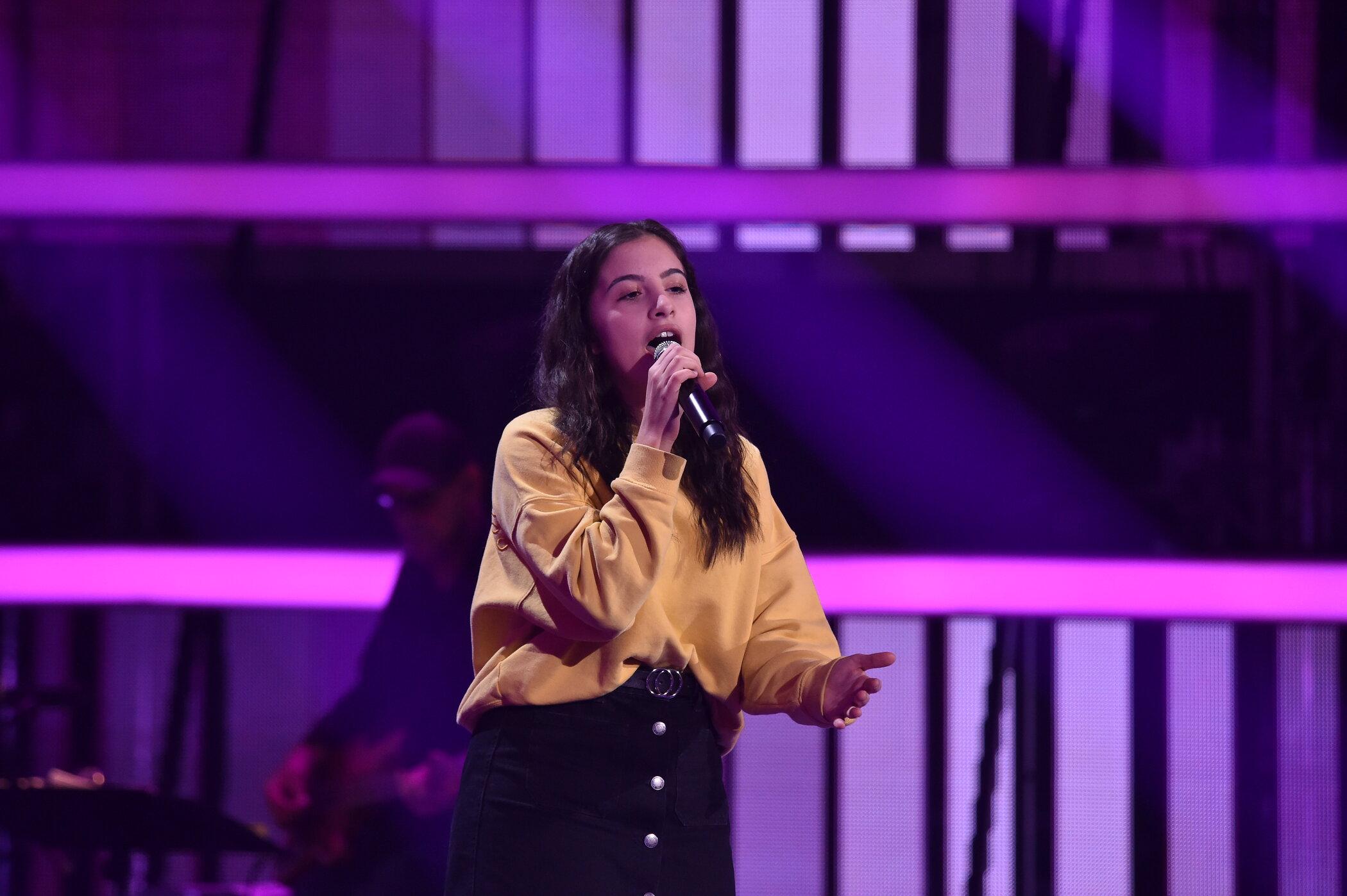 """Lena Meyer-Landrut, Max Giesinger, Sasha und Deine Freunde lauschen den besten Stimmtalenten bei """"The Voice Kids""""."""