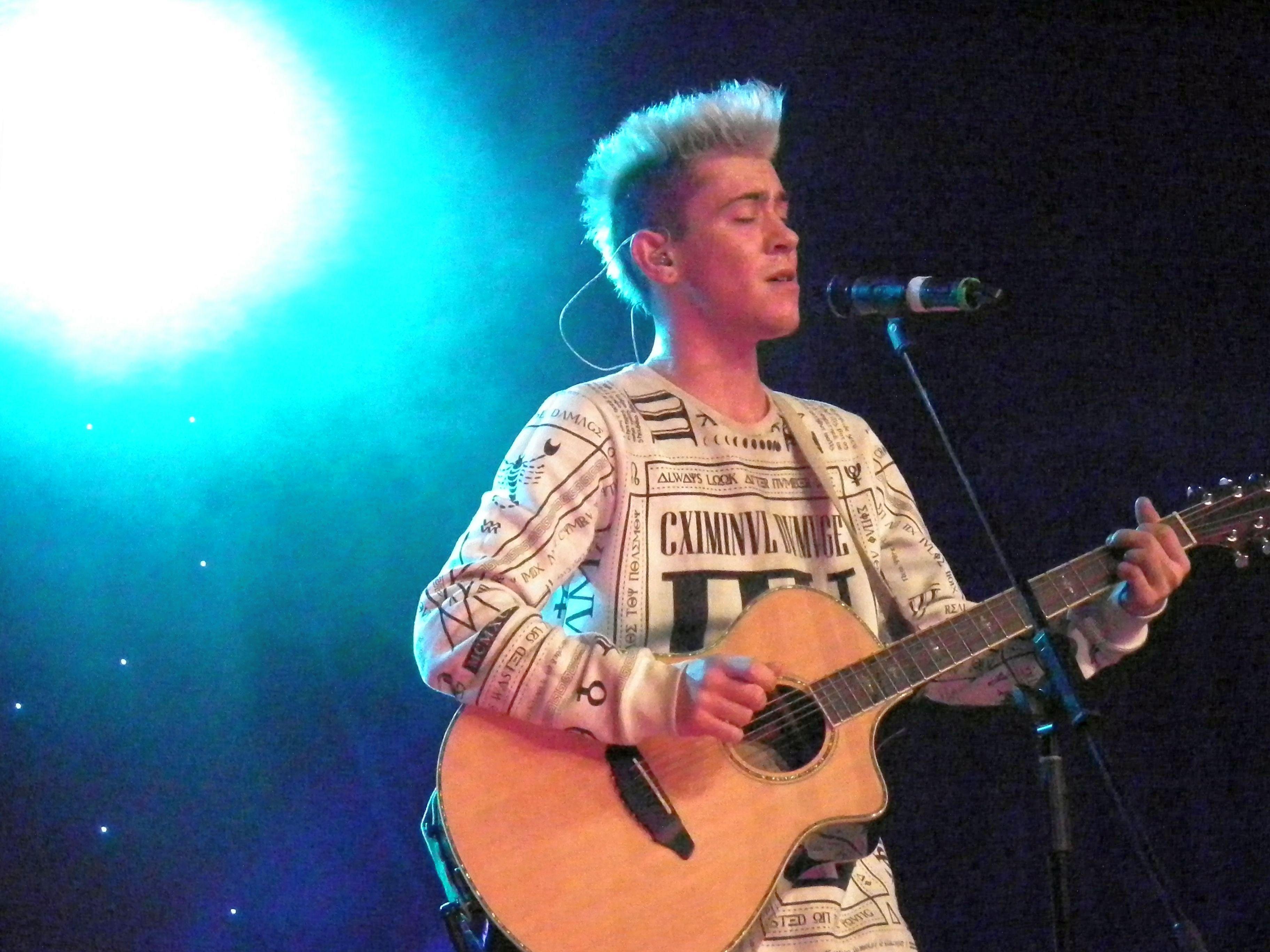 Daniele mit seiner Gitarre