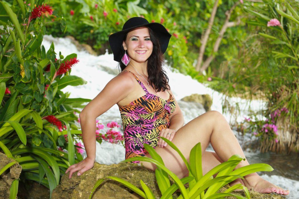 Angelika Ewa Turo beim Recall auf Jamaika.