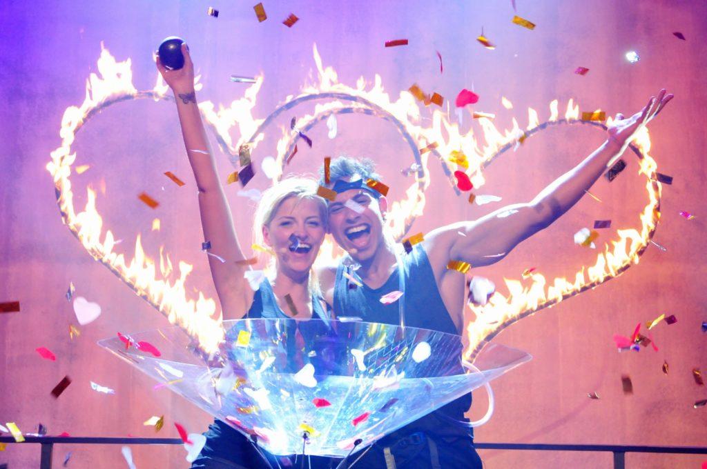 """GRATULATION!! """"DAS Promipaar 2016"""" ist Xenia Prinzessin von Sachsen und Rajab Hassan! Sie gewinnen insgesamt 50.748,50 Euro."""