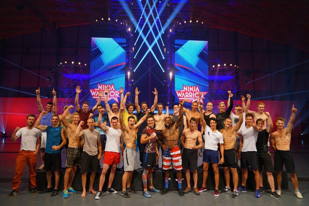 """Diese 28 Athleten stehen im Finale von """"Ninja Warrior Germany""""."""
