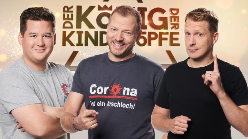 """""""Der König der Kindsköpfe"""" mit Chris Tall, Mario Barth und Oliver Pocher."""