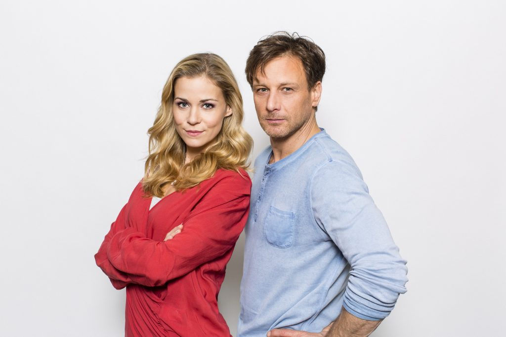 Stefan Vollmer (Hendrik Duryn) und Karin Noske (Jessica Ginkel)