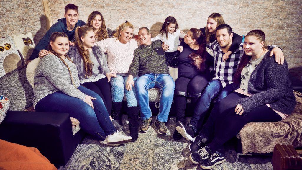 Die Wollnys sind wahrscheinlich Deutschlands bekannteste Großfamilie