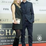 Die Mannschaft Premiere Berlin - Miroslav Klose mit Frau Sylwia