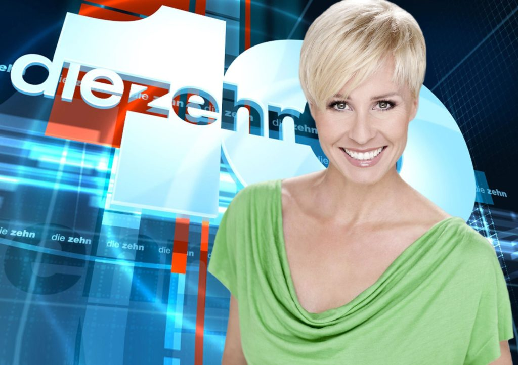 """Moderatorin Sonja Zietlow präsentiert mit """"Die 10 schrägsten Grand-Prix-Momente"""" eine weitere Folge ihrer kultigen Ranking-Show!"""