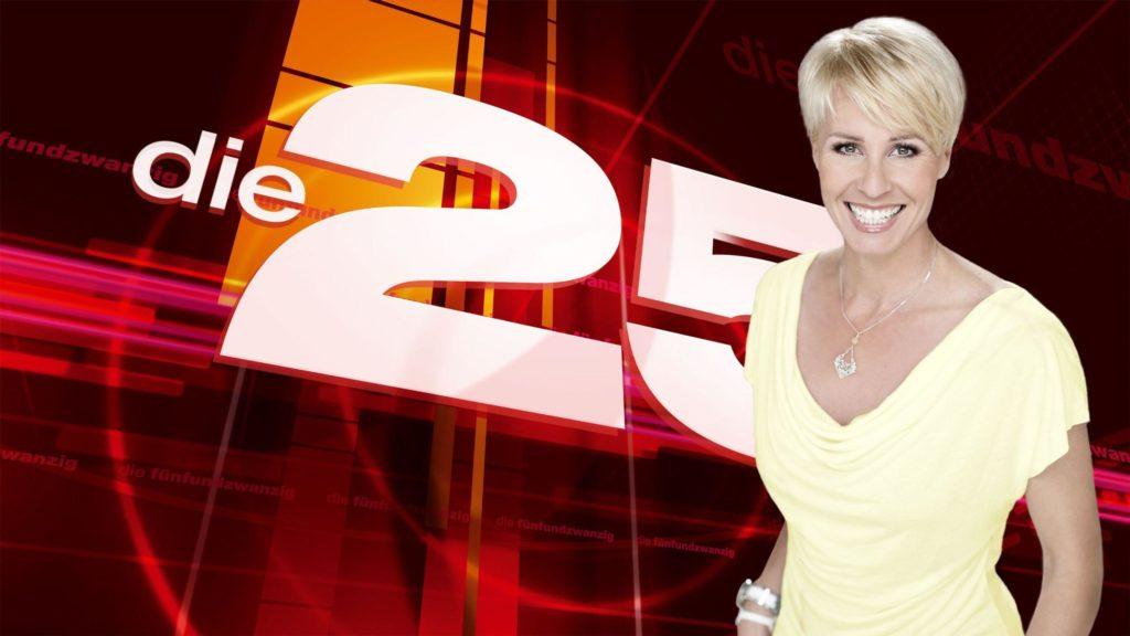 """Sonja Zietlow präsentiert heute """"Die 25 emotionalsten TV Momente des Jahres""""."""