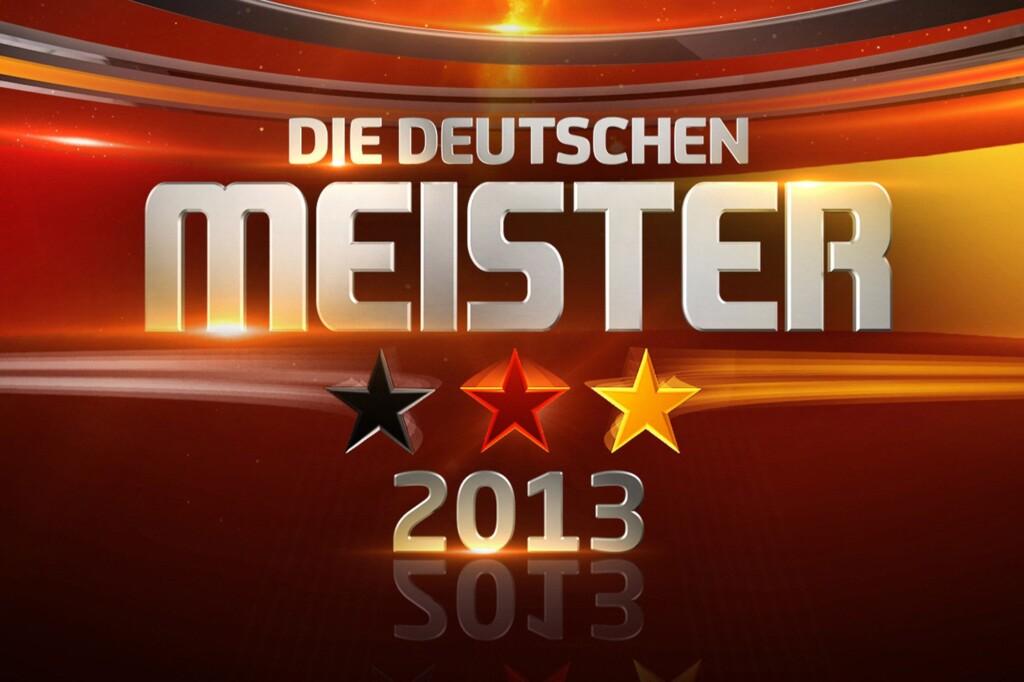 Kai Pflaume sucht den Deutschen Meister 2013