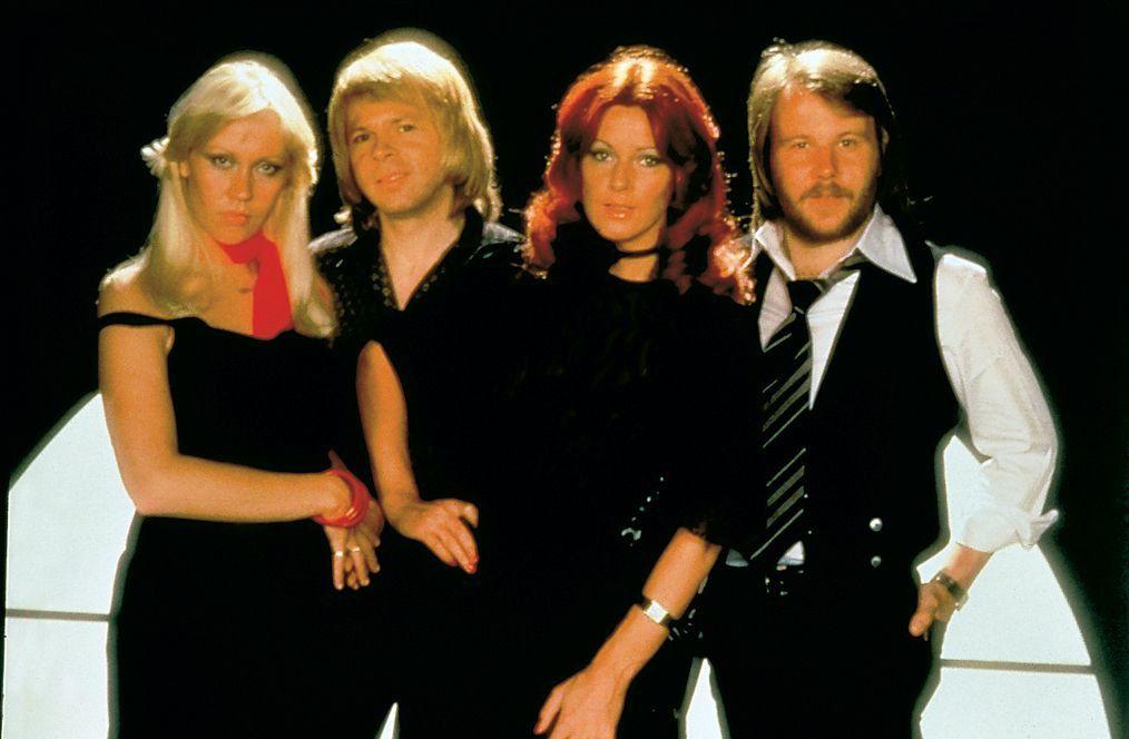ABBA - von links: Agnetha Fältskog, Björn Ulvaeus, Anni-Frid Lyngstad und Benny Andersson.