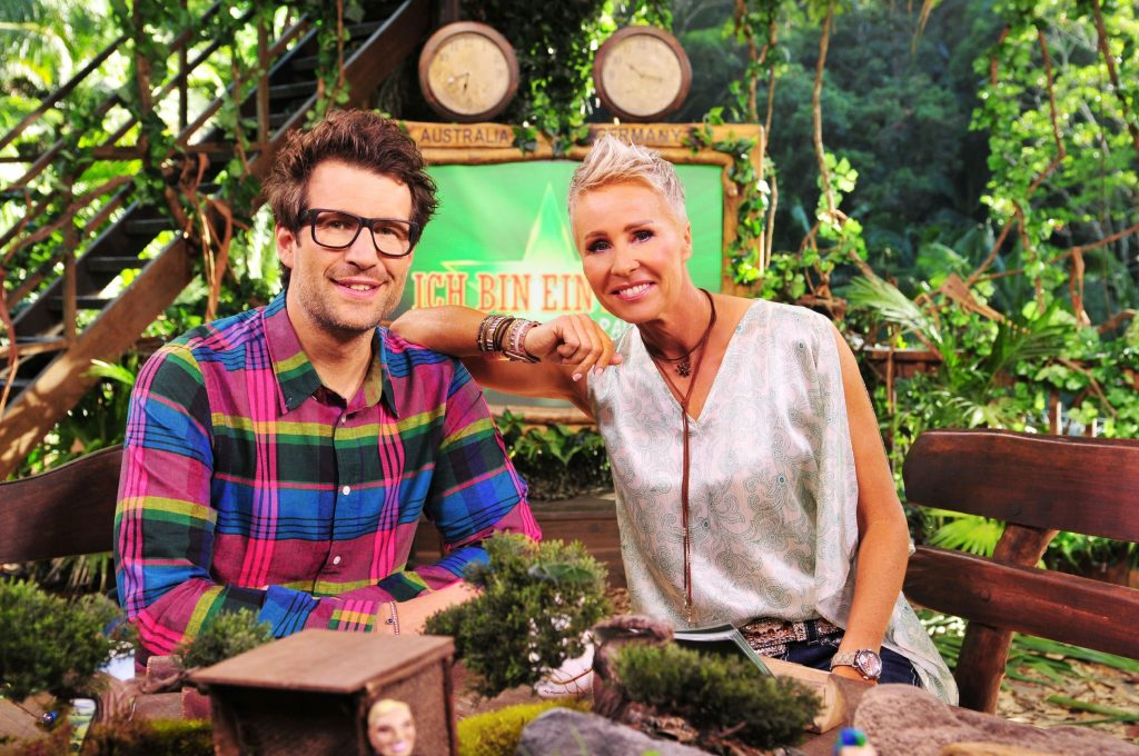 Die Moderatoren Sonja Zietlow und Daniel Hartwich halten die Zuschauer täglich live aus dem australischen Dschungel auf dem Laufenden.