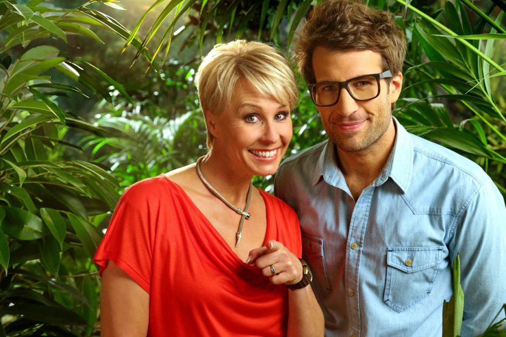 Die Moderatoren Sonja Zietlow und Daniel Hartwich berichten täglich live aus dem australischen Dschungel.