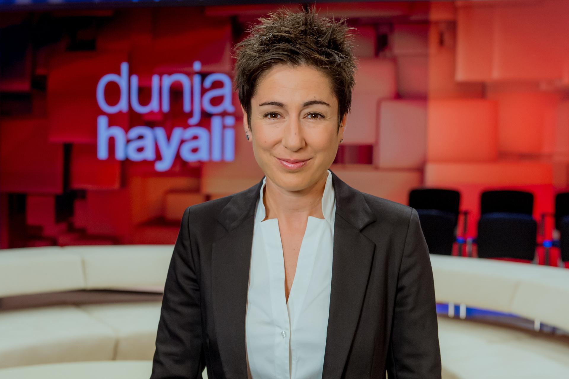 """Dunja Hayali"" heute Abend im ZDF"
