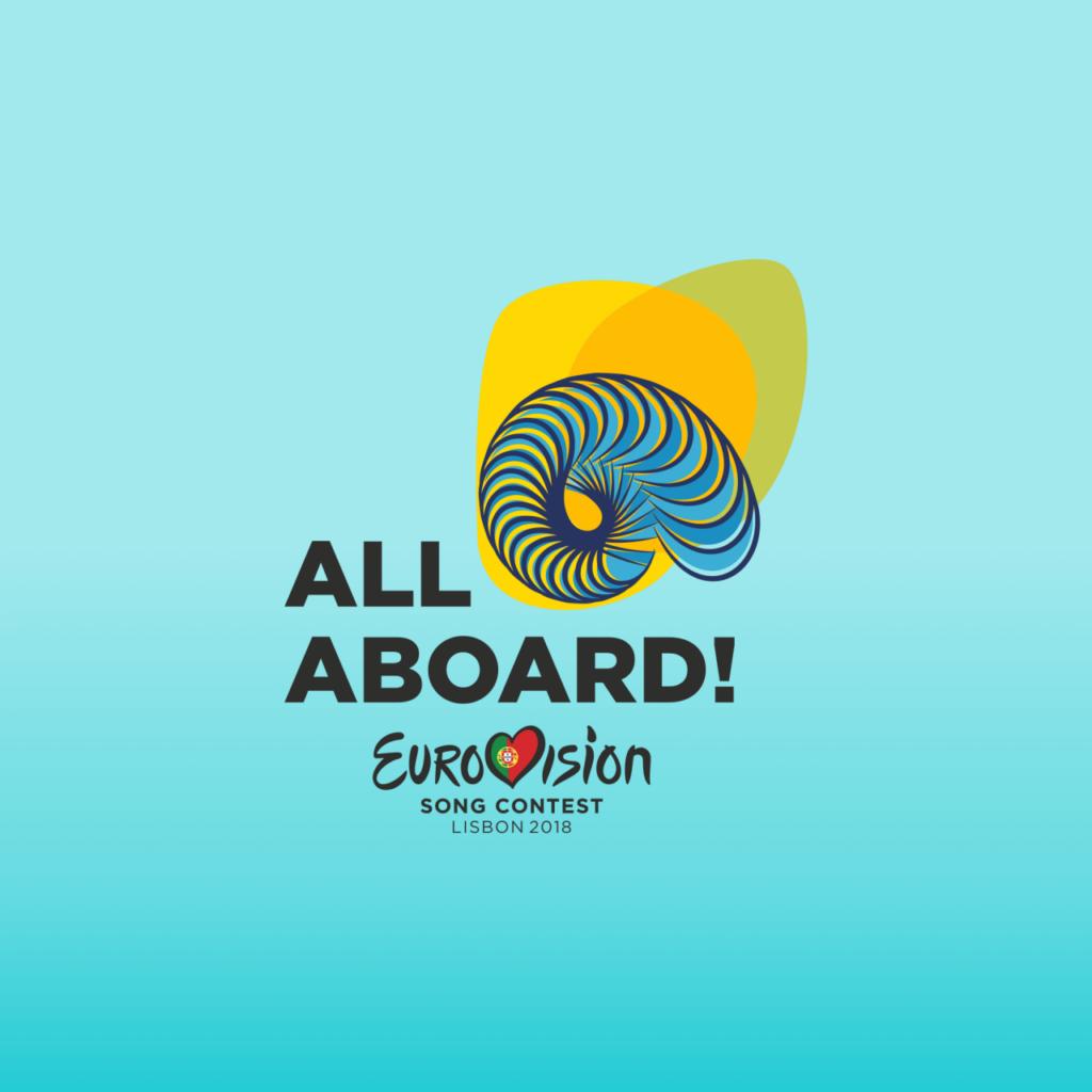 """Der ESC 2018 steht unter dem Motto """"All Aboard!""""."""