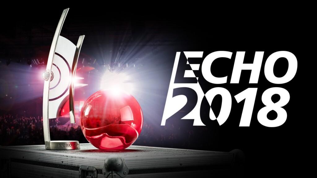 """VOX zeigt den Award-Abend """"ECHO 2018 - Der Deutsche Musikpreis"""" mit erstklassigen Live-Acts am 12.04.2018, 20:15 Uhr."""