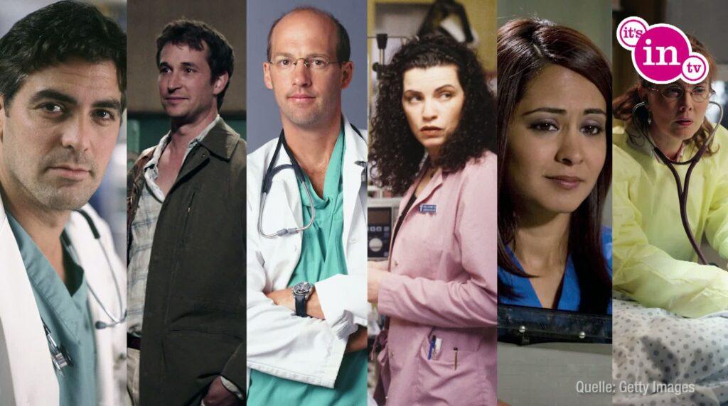 """Von 1994 bis 2009 fesselte die Krankenhaus-Dramaserie """"Emergency Room"""" seine Fans."""