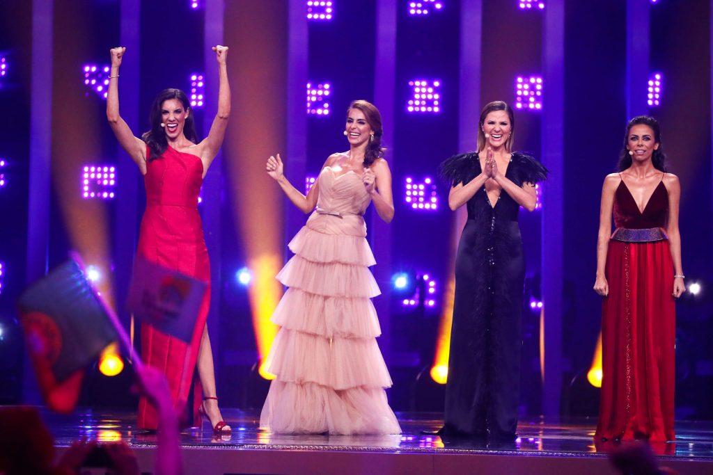 Filomena Cautela, Sílvia Alberto, Daniela Ruah und Catarina Furtado führen durch die Sendung.